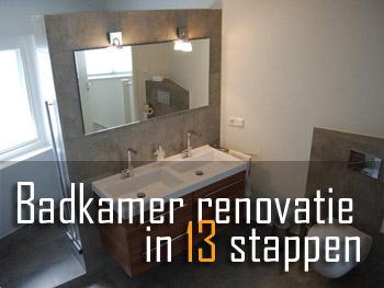 Badkamer renoveren | Uw droombadkamer komt bij Ter Haar Techniek uit.