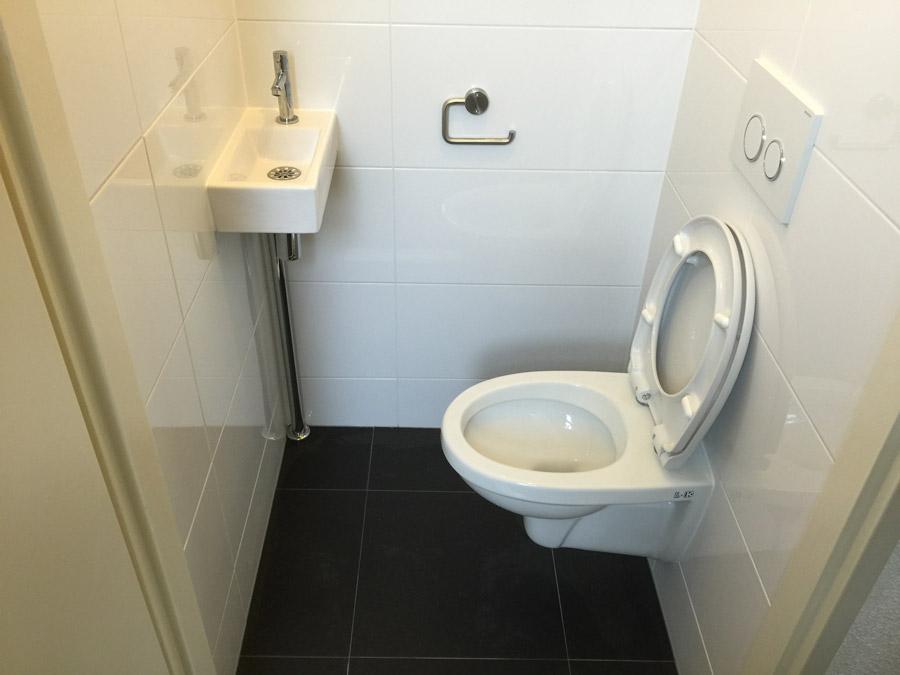 Toilet renoveren Amsterdam | Project foto\'s toilet renovatie Amsterdam