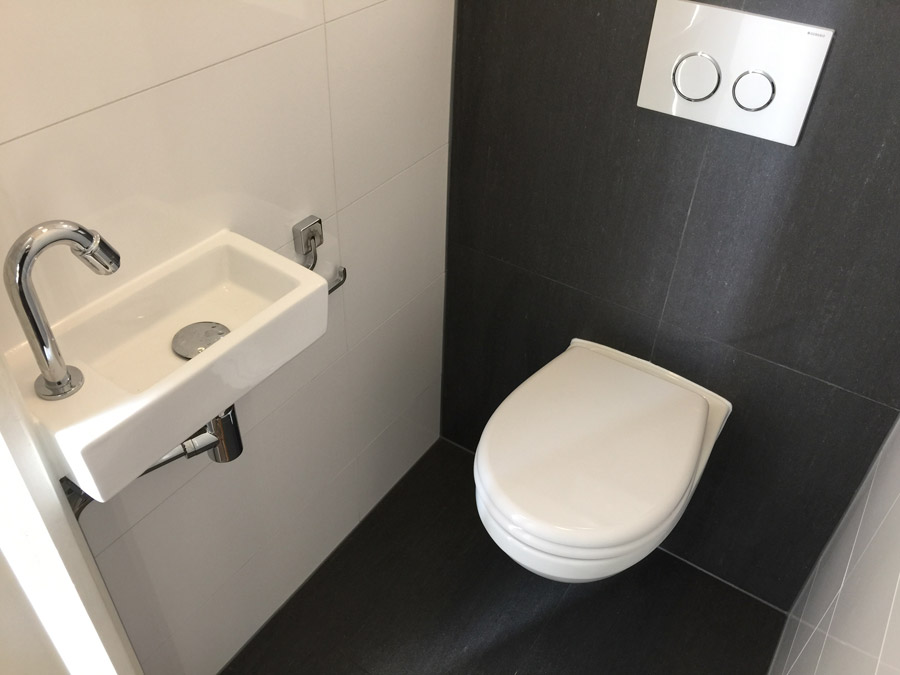 Toilet renovatie in Zaandam