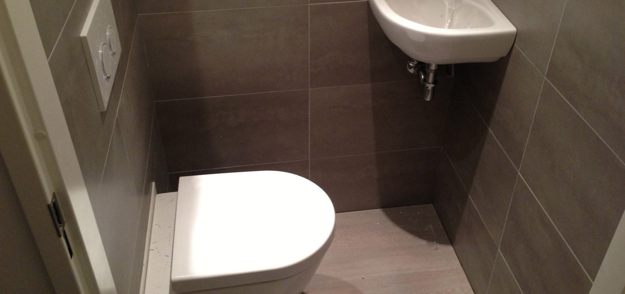 Toilet renoveren Almere | Project foto\'s toilet renovatie Almere